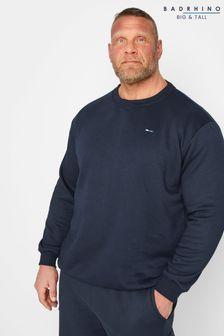 BadRhino Navy Marl Essential Sweatshirt