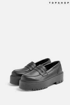 Topshop Lowdown Chunky Loafers