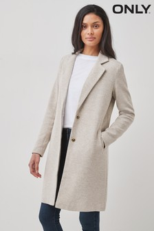 Only Cream Tailored Coat