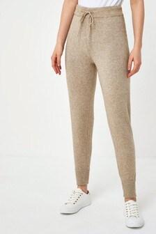 Vila Neutral Knitted Premium Trouser