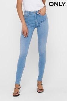 Only Light Blue High Waist Skinny Jeans