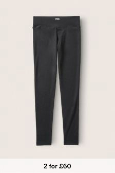 Victoria's Secret PINK Cotton Mid Rise Full Length Legging