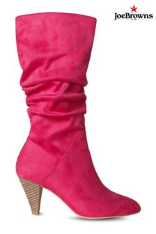 Joe Browns Pink One And Only Slouchy Boots