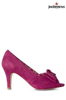 Joe Browns Pink Vivacious Bow Shoes