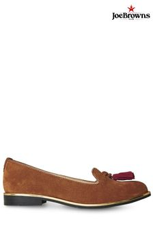 Joe Browns Brown Manor Row Suede Loafers
