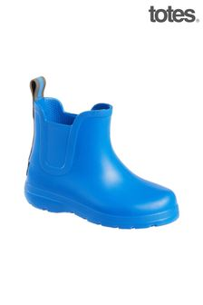 Totes Blue Toddler Chelsea Rain Wellie Boot