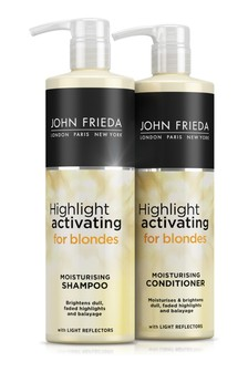 John Frieda Sheer Blonde Highlight Activating Shampoo And Conditioner Duo