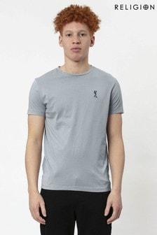 Religion Grey Core T-Shirt