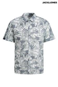 Jack & Jones Green Short Sleeve Shirt