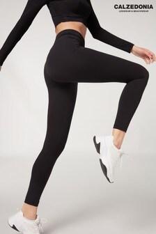 Calzedonia Black Ultra Light Active Leggings
