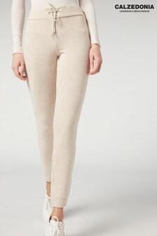 Calzedonia Cream Comfort Leggings