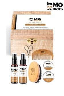 Mo Bros Wooden Signature Beard Grooming Collection Cedarwood