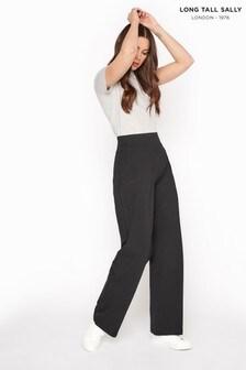 Long Tall Sally Black Wide Leg Yoga Pants