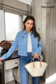 Threadbare MidBlue wash Lizzie Denim Jacket