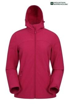 Mountain Warehouse Berry Exodus Womens Softshell Jacket