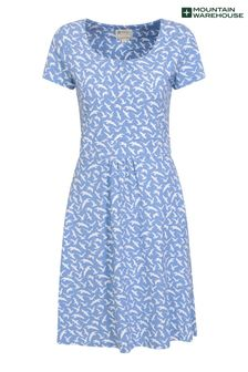 Mountain Warehouse Navy Orchid Patterned Womens Uv Dress