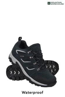 Mountain Warehouse Blue Voyage Waterproof Mens Shoes