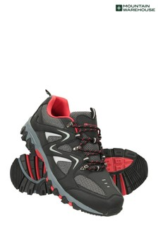 Mountain Warehouse Black Jungle Mens Walking Shoes