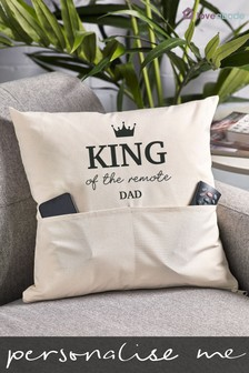 Personalised Pocket Cushion by Loveabode
