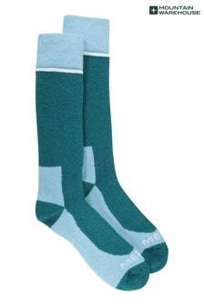 Mountain Warehouse Blue Merino Womens Explorer Winter Walking Socks