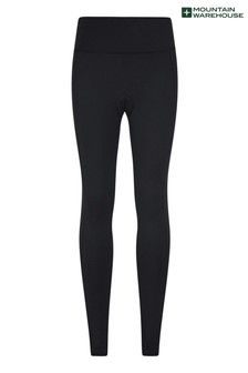 Mountain Warehouse Black Speed Up Womens Padded Cycling Leggings