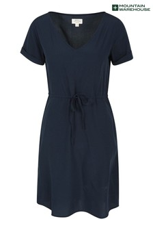 Mountain Warehouse Blue Bali Womens UV Protect Relaxed Fit Dress