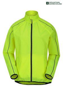 Mountain Warehouse Yellow Packaway Lightweight Womens Running Jacket