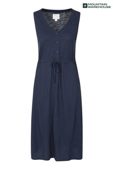 Mountain Warehouse Navy Bahamas Womens UV Protect Sleeveless Dress