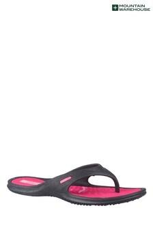 Mountain Warehouse Pink Street Womens Beach Flip Flops