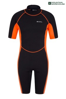 Mountain Warehouse Orange Mens Shorty Neoprene Wetsuit