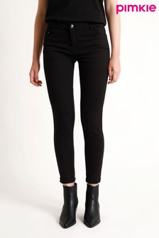 Pimkie Black Push-Up Mid Waist Skinny Jeans