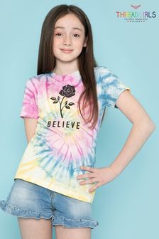 Threadgirls Pink Believe Tie Dye T-Shirt