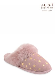 Just Sheepskin Rose Star Ladies Duchess Sheepskin Slipper