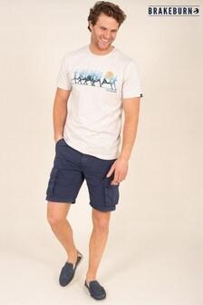Brakeburn Blue Cargo Shorts