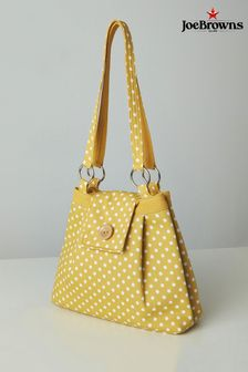 Joe Browns Lemon Sweet Vintage Polka Dot Bag