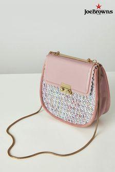 Joe Browns Pink Morningside Tweedy Bag