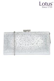 Lotus Footwear ICE Diamante Clutch Bag