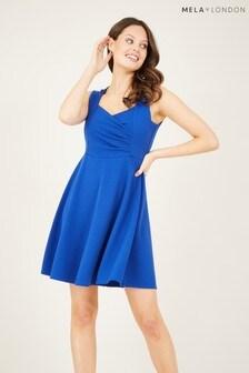 Mela Blue London Skater Dress