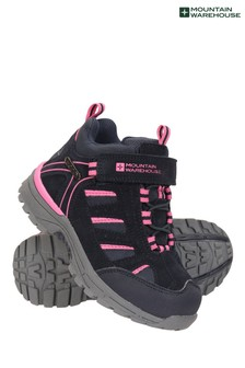Mountain Warehouse Navy Drift Junior Waterproof Walking Boots