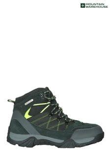 Mountain Warehouse Lime Trail Waterproof Kids Boots