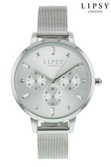 Lipsy Silver Mesh Watch