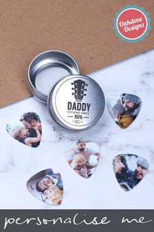 Personalised Photo Guitar Plectrums by Oakdene