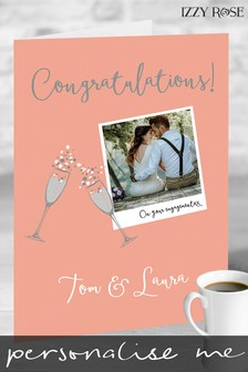 Personalised Giant A3 Card by Izzy Rose