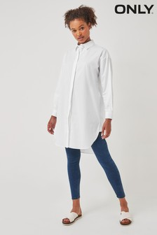 Only Bright White Oversized Shirt