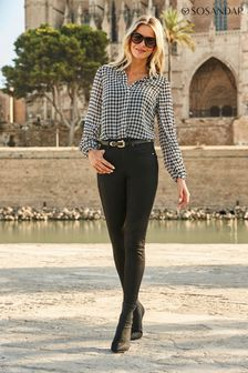 Sosandar black Regular Perfect Skinny Jeans