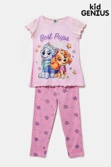 Kid Genius Pink Paw Patrol Best Pups Ever PJ