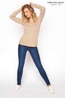 Long Tall Sally Blue Lola Bum Shaper Jegging