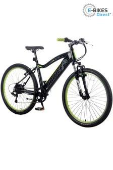 E-Bikes Direct Black Basis Hunter Unisex Integrated Electric Mountain Bike 700C