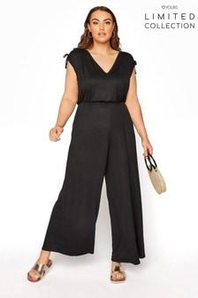 Yours Limited Black Jumpsuit