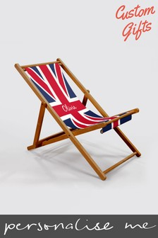Personalised Deck Chair by Custom Gifts